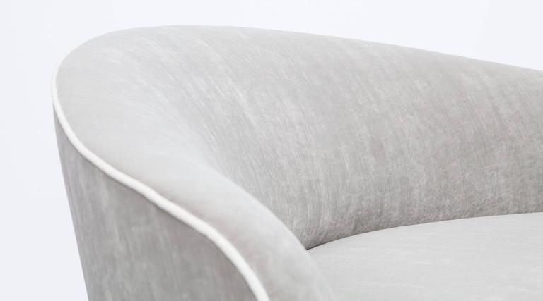 Mid-Century Italian Sofa * NEW UPHOLSTERY * 10