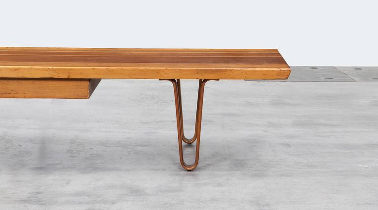 Edward Wormley Bench with Drawer d For Sale at 1stdibs
