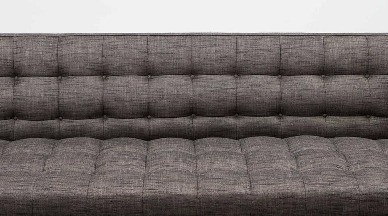 Edward Wormley Sofa 'b' New Upholstery In Excellent Condition For Sale In Frankfurt, Hessen, DE