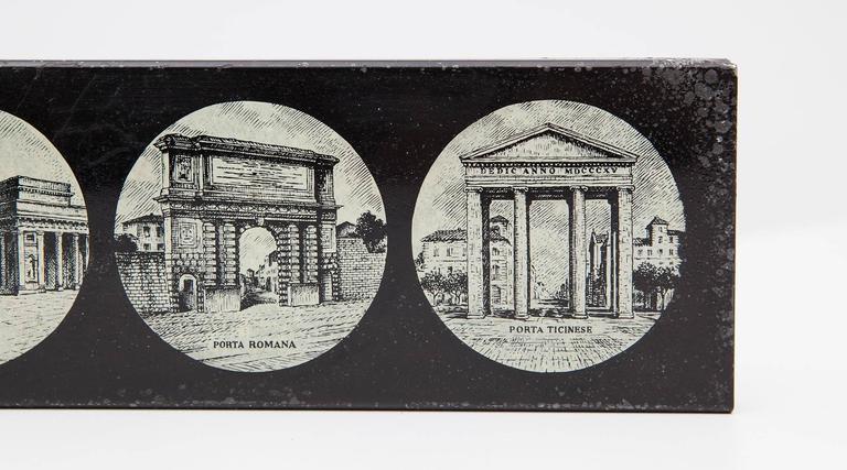 Italian Old Piero Fornasetti Box 'n' For Sale