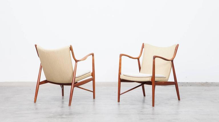 Finn Juhl Lounge Chairs in Teak 'b' 2