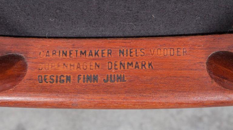 Finn Juhl Lounge Chairs in Teak 'b' 10