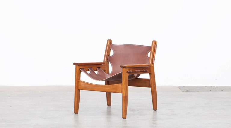 Mid-Century Modern Sergio Rodrigues Lounge Chairs For Sale