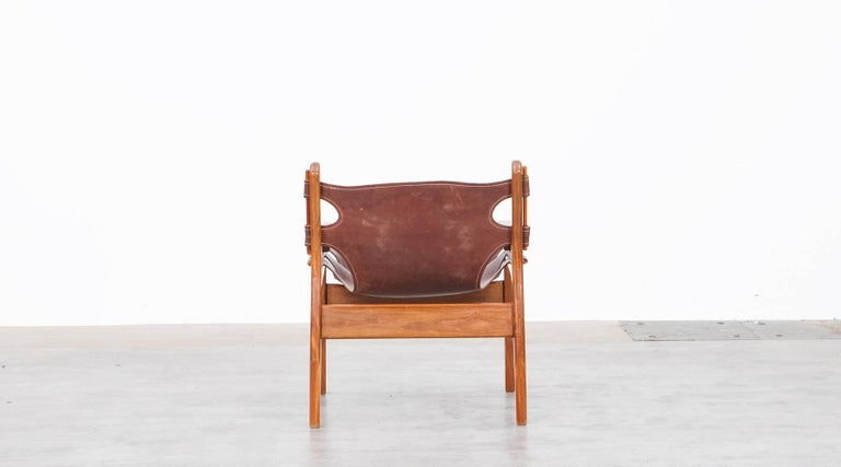 Late 20th Century Sergio Rodrigues Lounge Chairs For Sale