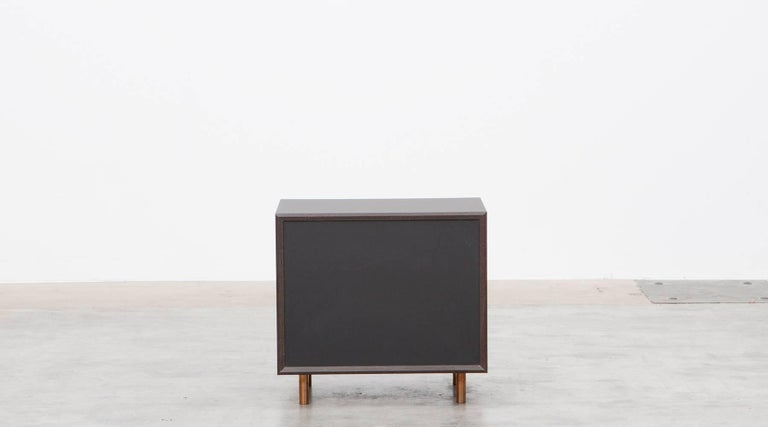 Contemporary Brown Wood Pair of Nightstands by Johannes Hock 9