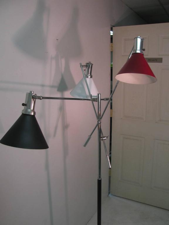 Mid-20th Century Mid-Century Modern Triennale Floor Lamp For Sale