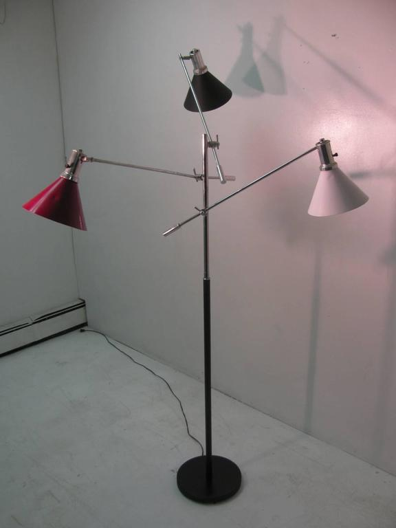 Mid-Century Modern Triennale Floor Lamp For Sale 2