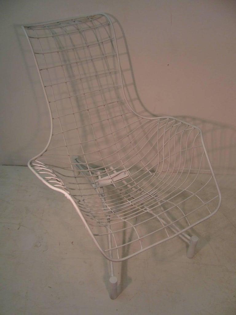 Danish Vladimir Kagan Mid-Century Modern Lounge Chair Recliner with Original Pads For Sale