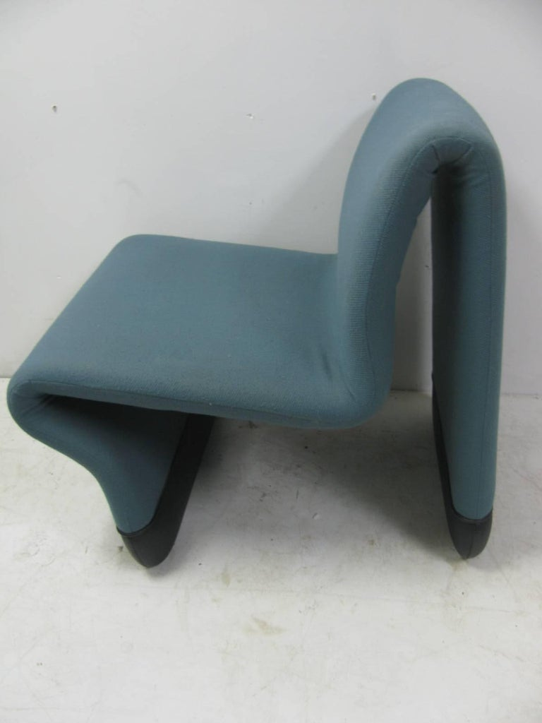 Danish Jan Ekselius Mid Century Modern Three-Piece Suite Lounge Chairs with a Table For Sale
