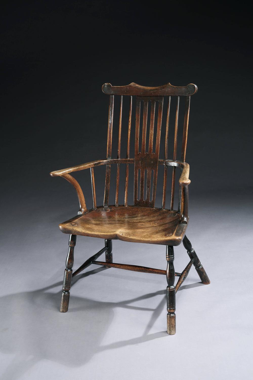Georgian Comb Back Windsor Armchair For Sale At 1stdibs