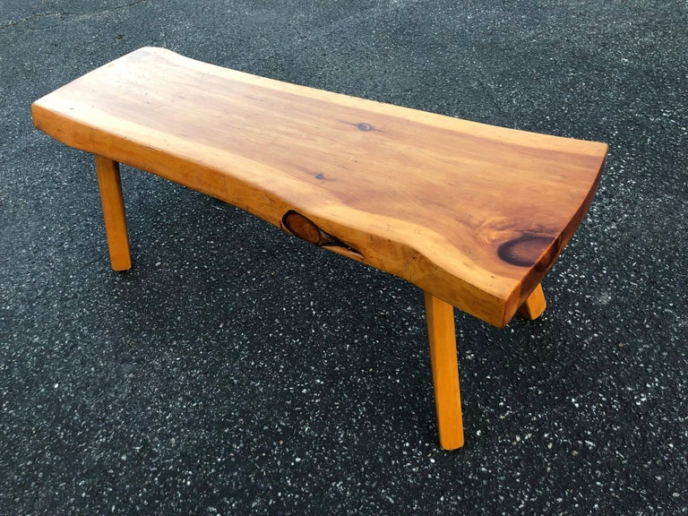 Admirable Live Edge Wooden Slab Bench Or Table Evergreenethics Interior Chair Design Evergreenethicsorg
