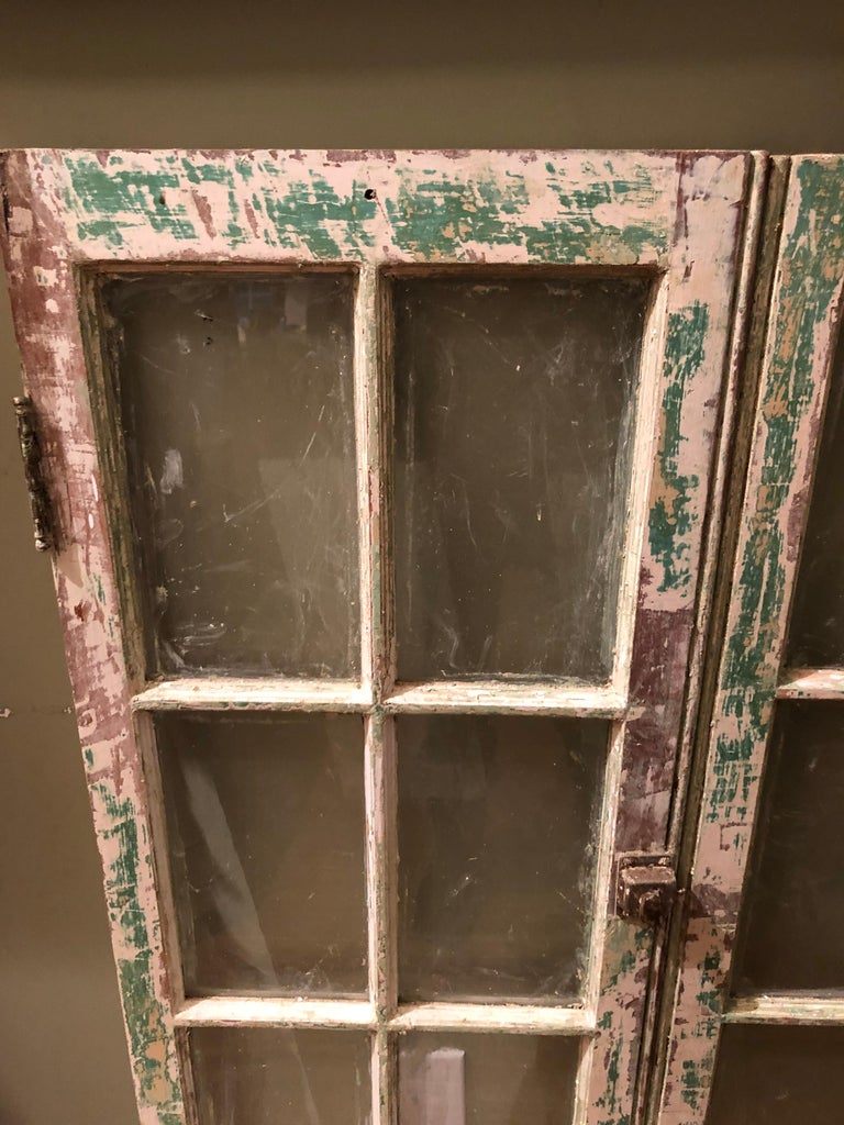 Mid-20th Century Pair of Antique Windows For Sale