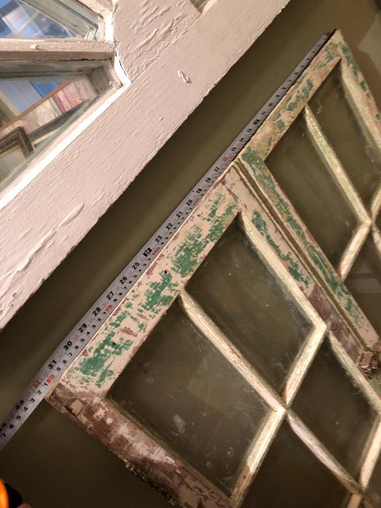 Pair of Antique Windows For Sale 8