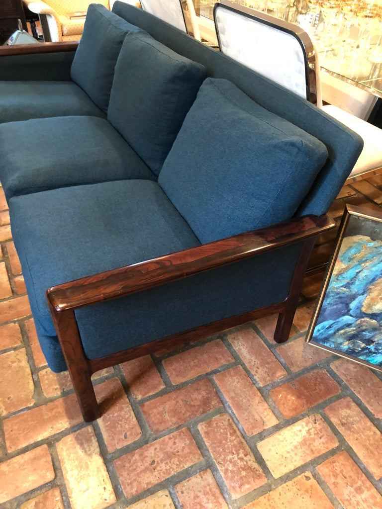 Broderna Anderssons Rosewood Sofa For Sale 7