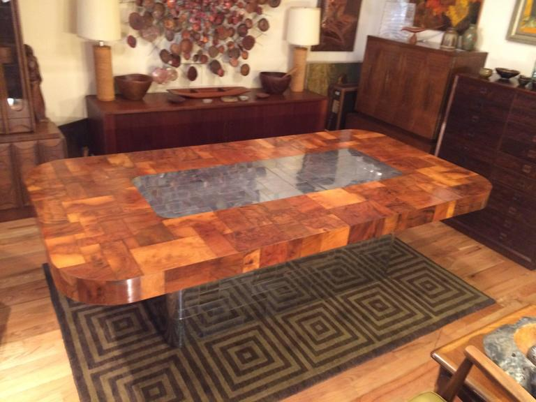 American Paul Evans Cityscape Dining Table for Directional For Sale