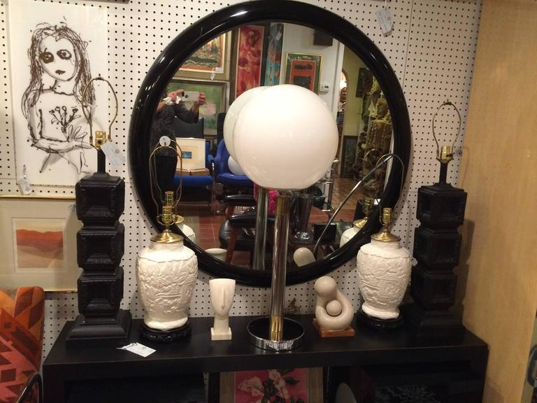 Large Robert Sonneman Style Lollipop Table Lamp For Sale 3