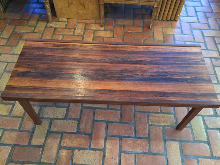 Scottish A.H. McIntosh Mid-Century Rosewood Coffee Table For Sale
