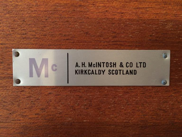 A.H. McIntosh Mid-Century Rosewood Coffee Table For Sale 1
