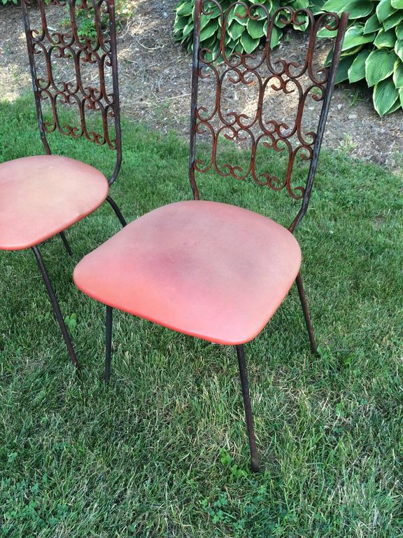 Arthur Umanoff Granada Chairs With Table For Sale At 1stdibs