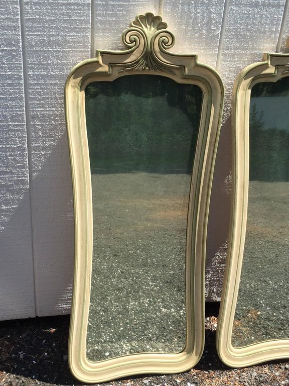 Pair of Hollywood Regency Mirrors For Sale 4