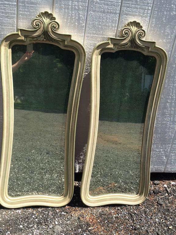 Pair of Hollywood Regency Mirrors For Sale 12