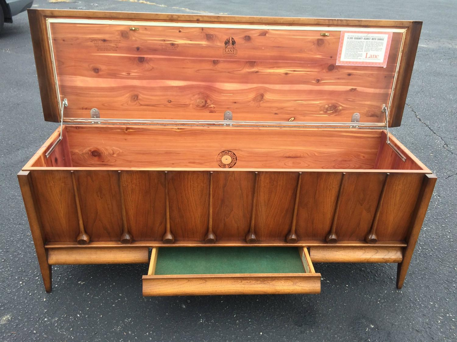 Mid Century Cedar Chest By Lane For Sale At 1stdibs