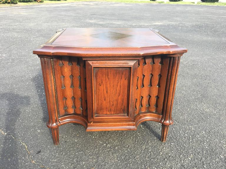 Mid-Century Brutalist Cabinet or End Table For Sale 1