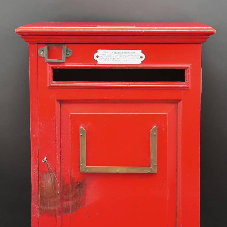 English 'Country House' Private Post Box c1925 4