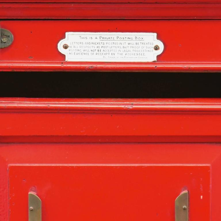 English 'Country House' Private Post Box c1925 5