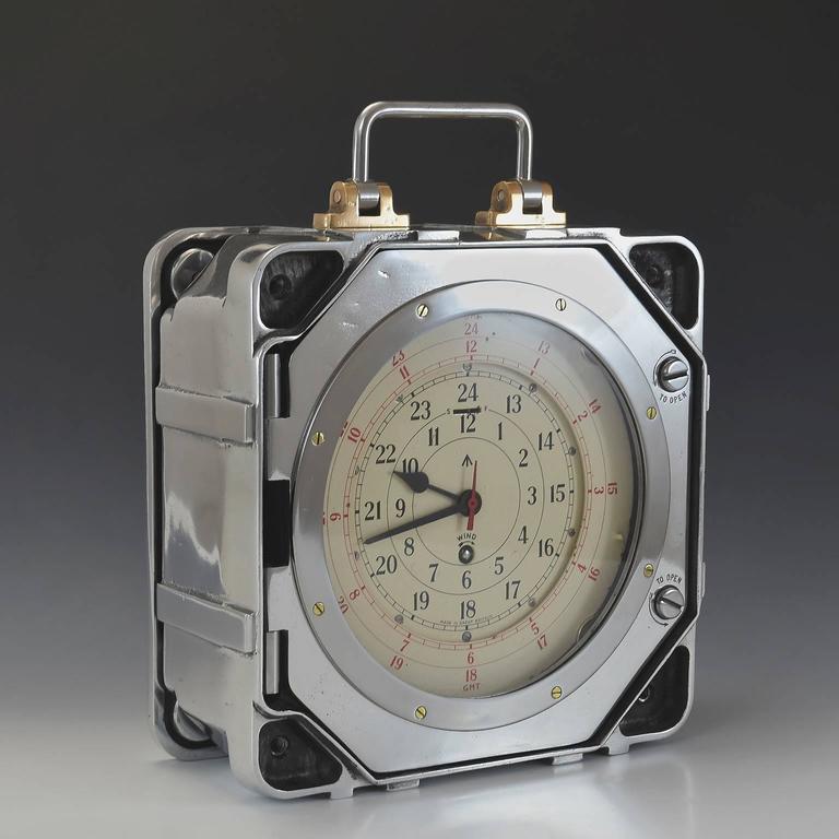 British Army Signals Clock At 1stdibs