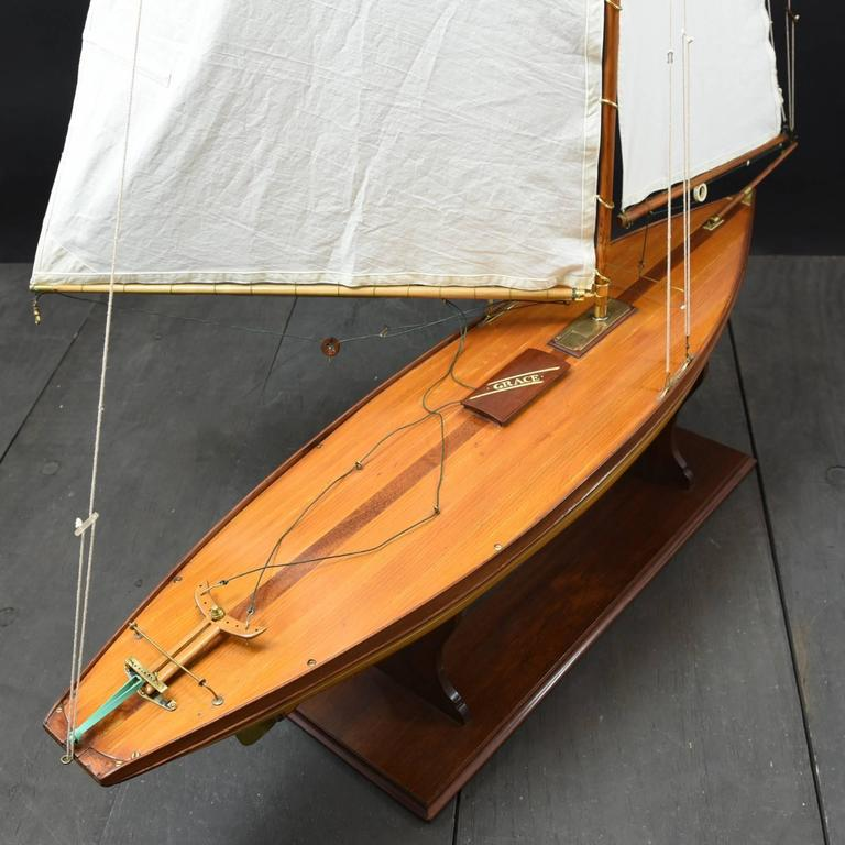 Pond Yacht model 'Grace' c1935 For Sale 3