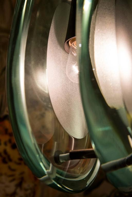 model 2450 chandelier by max ingrand for fontana arte 1960s for sale at 1stdibs. Black Bedroom Furniture Sets. Home Design Ideas