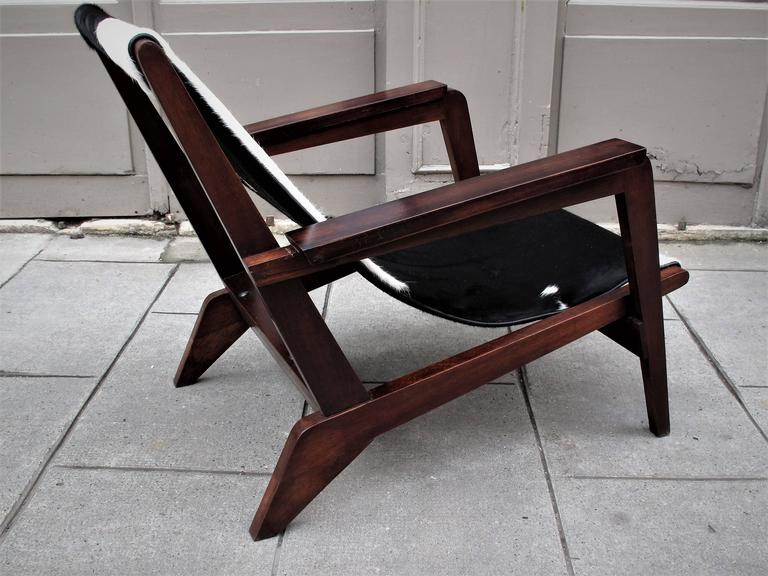 Pierre Jeanneret Style of Armchairs Design 1940 Grenoble 4