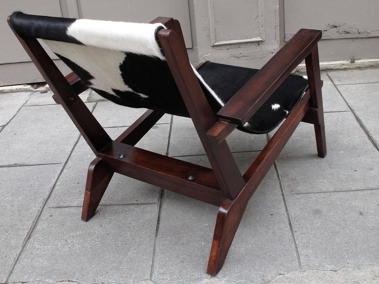 Pierre Jeanneret Style of Armchairs Design 1940 Grenoble 5