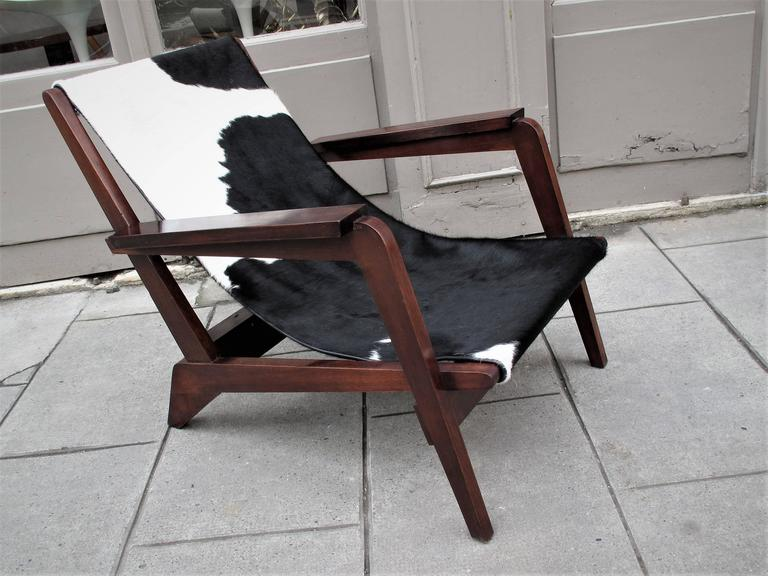 Pierre Jeanneret Style of Armchairs Design 1940 Grenoble 6