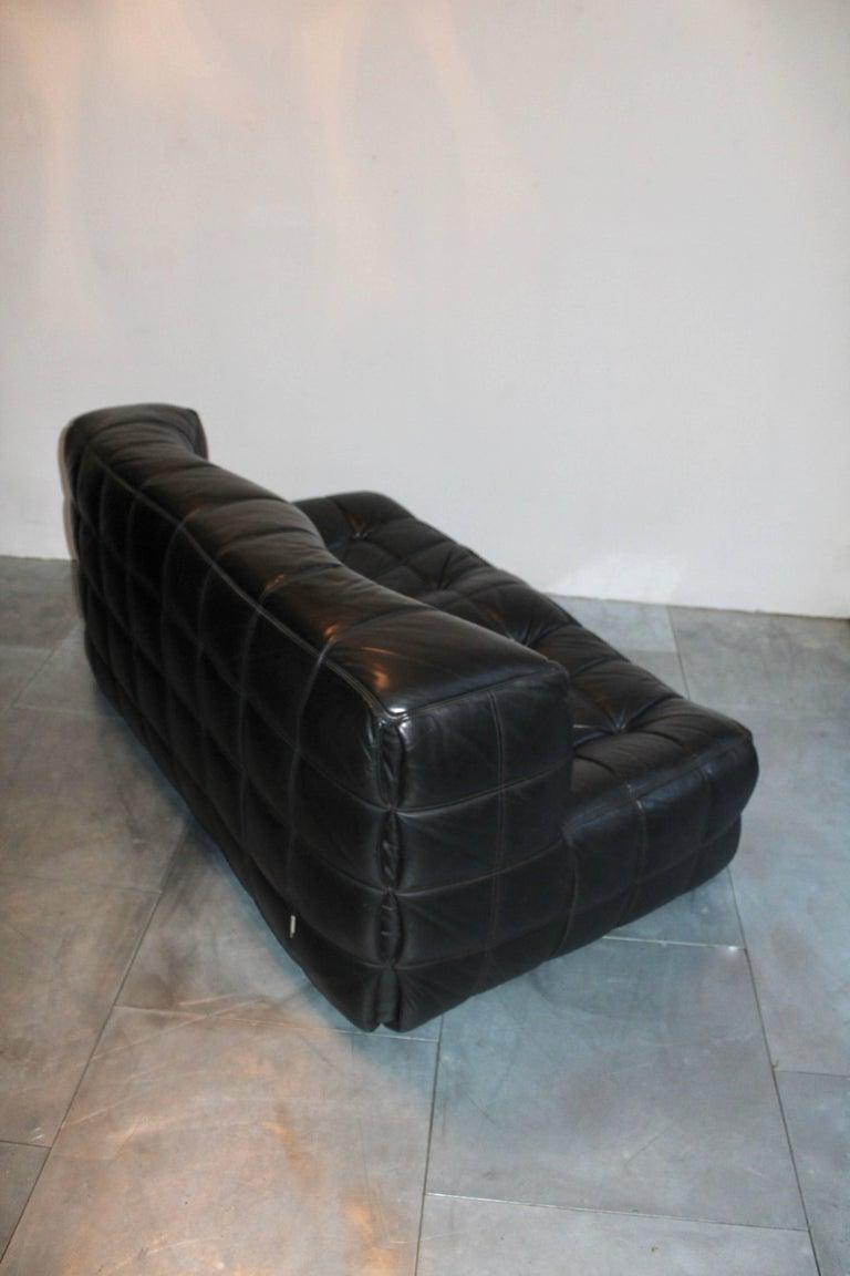 Michel Ducaroy A Pair Of Kashima Leather Sofa Ligne Roset