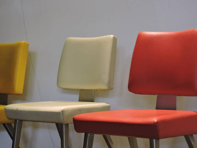 Mid 20th Century GoodForm Large Size Industrial Task Chairs 2