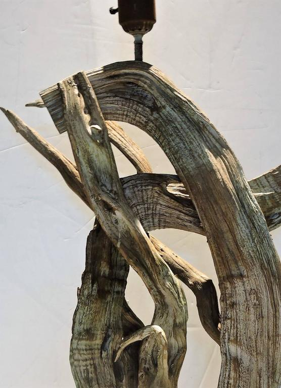 Tall Driftwood Table Lamp For Sale At 1stdibs