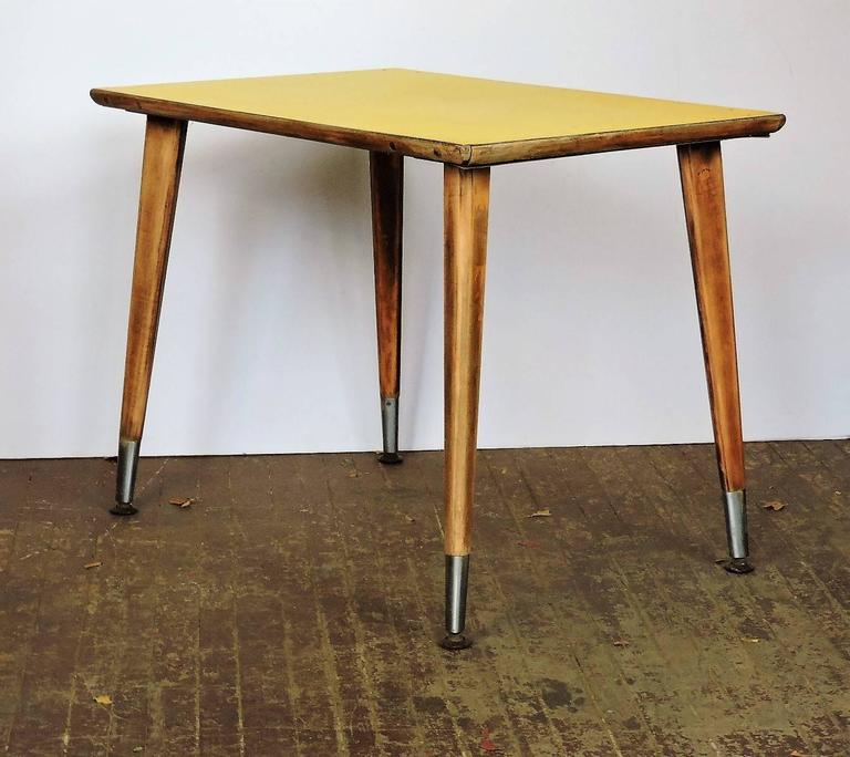Table style jean prouve for sale at 1stdibs - Table basse jean prouve ...