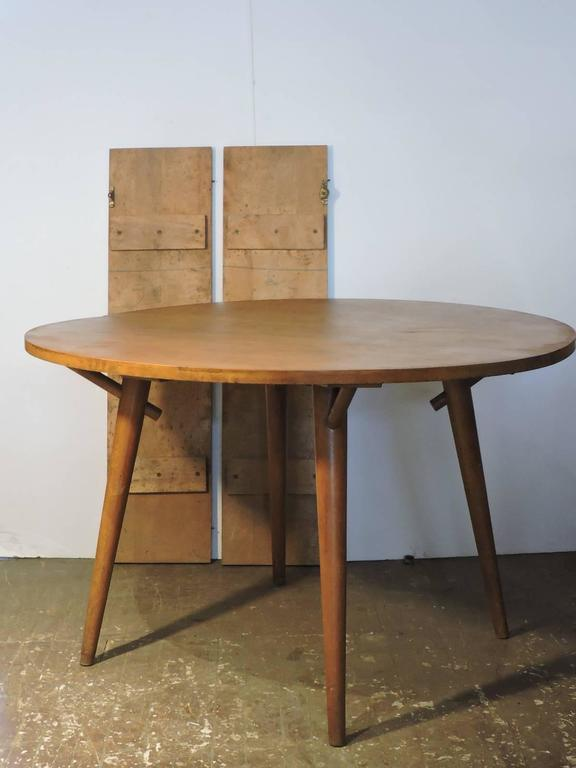 Russel Wright American Modern Extension Dining Table For