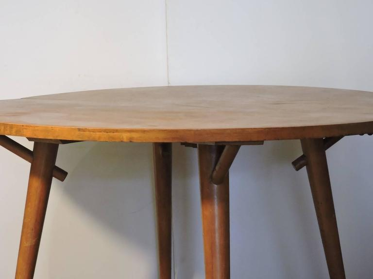 Mid Century Modern Russel Wright American Extension Dining Table For Conant Ball Sale