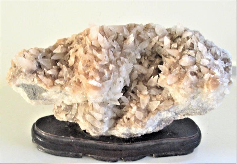 Large Old Quartz Crystal Specimen For Sale 1