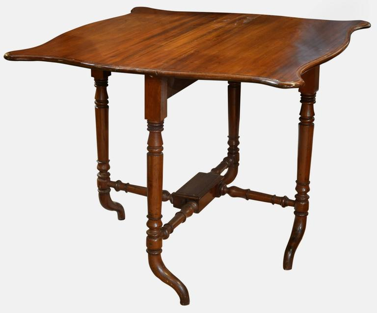 Late Victorian Mahogany Sutherland Table at 1stdibs : DSC3098l from www.1stdibs.com size 768 x 639 jpeg 30kB