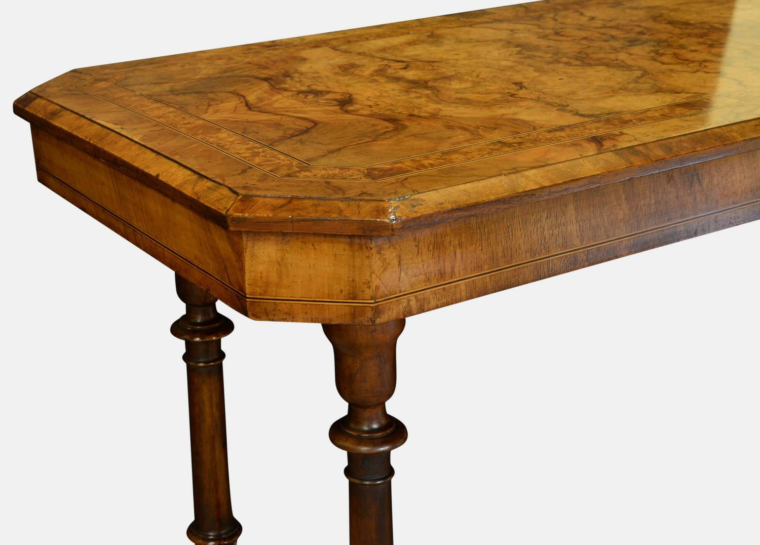 Victorian walnut centre sofa table for sale at 1stdibs for Sofa table victorian