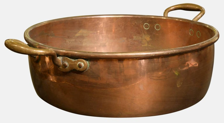 18th Century Large Copper Pan For Sale At 1stdibs