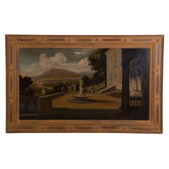 Palace Courtyard Painting