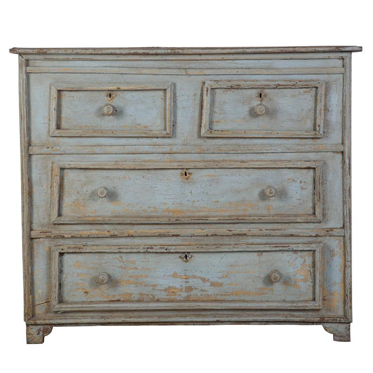 Early 19th Century Painted Chest