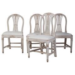 18th Century Swedish Dining Chairs