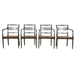 Set of Regency Chairs