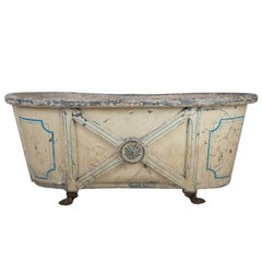 English Regency Zinc Bath